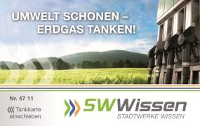 Tankkarte Stadtwerke Wissen
